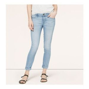LOFT Modern Ankle Skinny Jeans